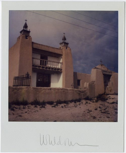 Church at Las Trampas - Harold Joe Waldrum SX-70 Polaroid