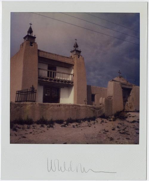 Church at Las Trampas - Harold Joe Waldrum SX-70 Polaroid