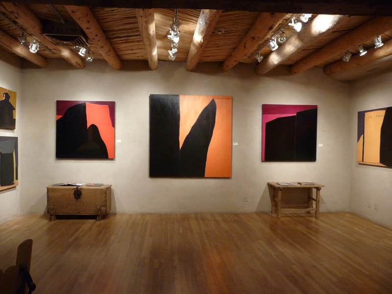 Harold Joe Waldrum show at Zaplin Lampert Gallery