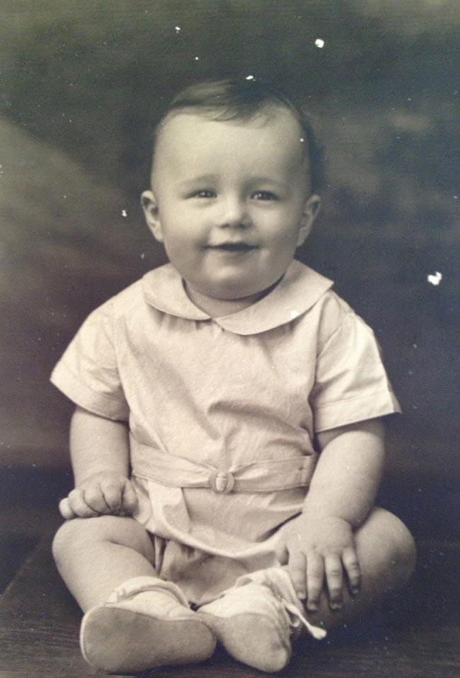 Harold Joe Waldrum age 1 (ish)