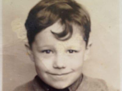 Harold Joe Waldrum school portrait 1940-41