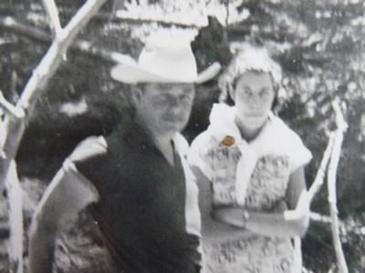 Harold Joe Waldrum & Mary Driver in Ouray