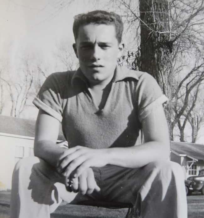 Harold Joe Waldrum in his teens