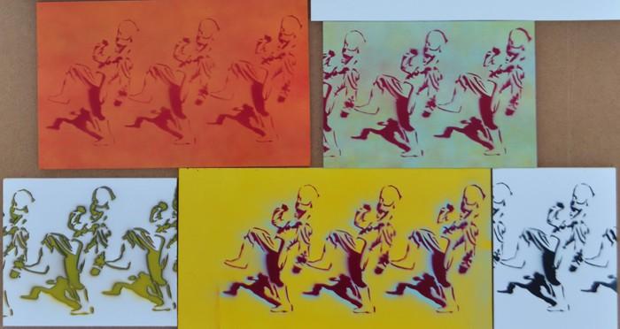 Tim Brown's Drum Major stencils