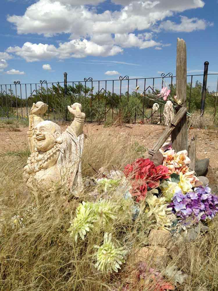 gravesite of Harold Joe Waldrum