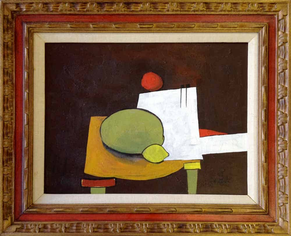 Harold Joe Waldrum still life, 1963