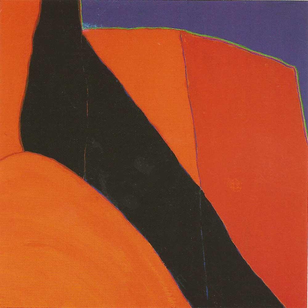 Study for La Sombra Diagonal - Wiford & Vogt Fine Art, August 2003