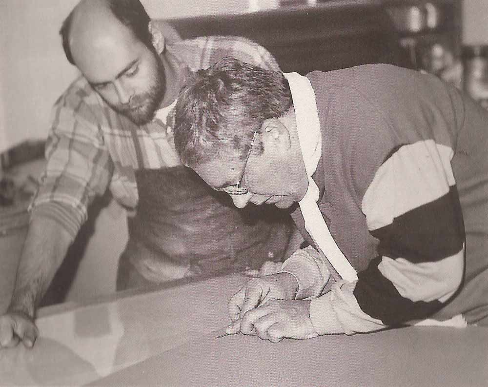 Master Printer Robert Blanchard and Harold Joe Waldrum