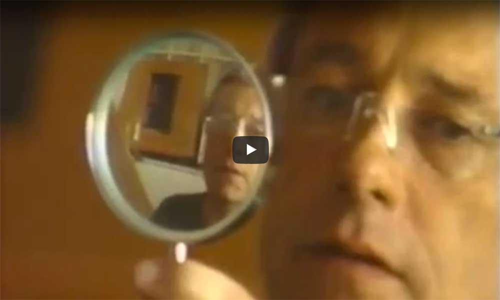 a video of Harold Joe Waldrum painting in his Taos Studio