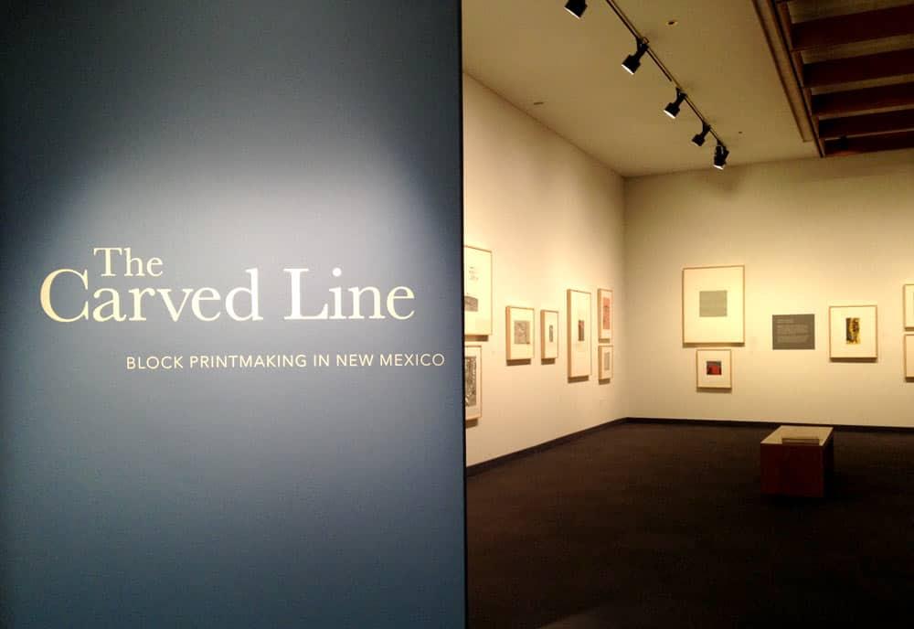 The Carved Line: 2017, Albuquerque Museum of Art