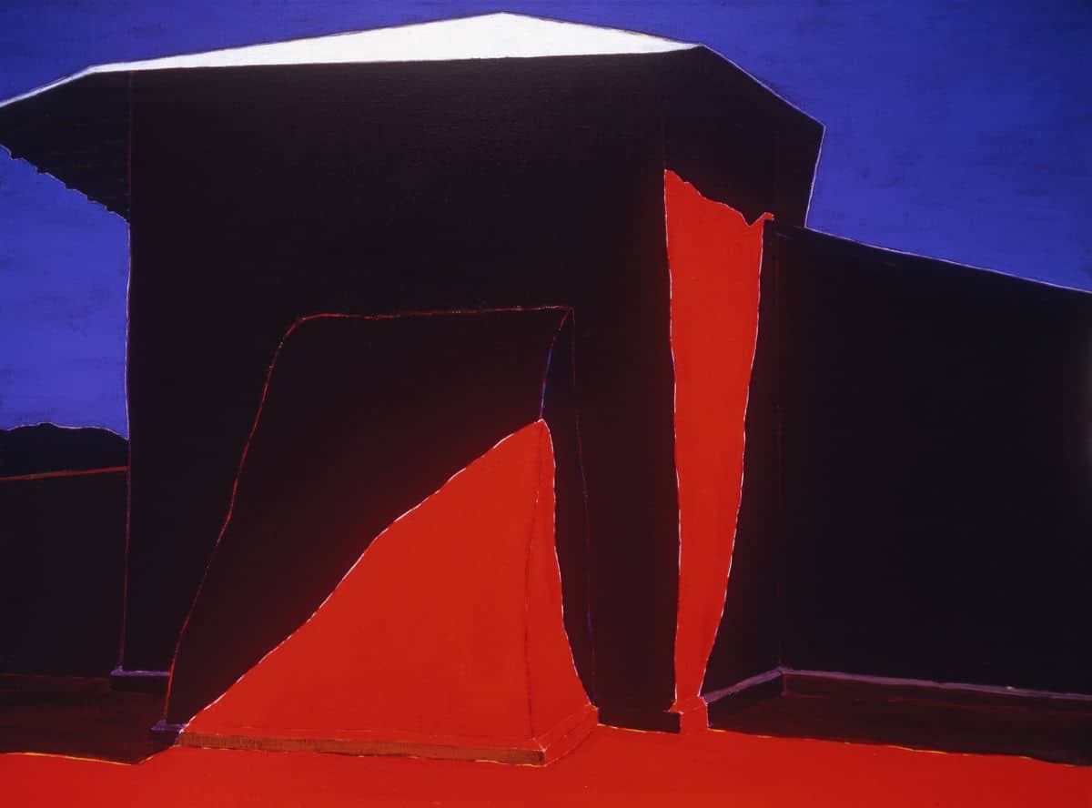 Harold Joe Waldrum - the church at Cordova New Mexico