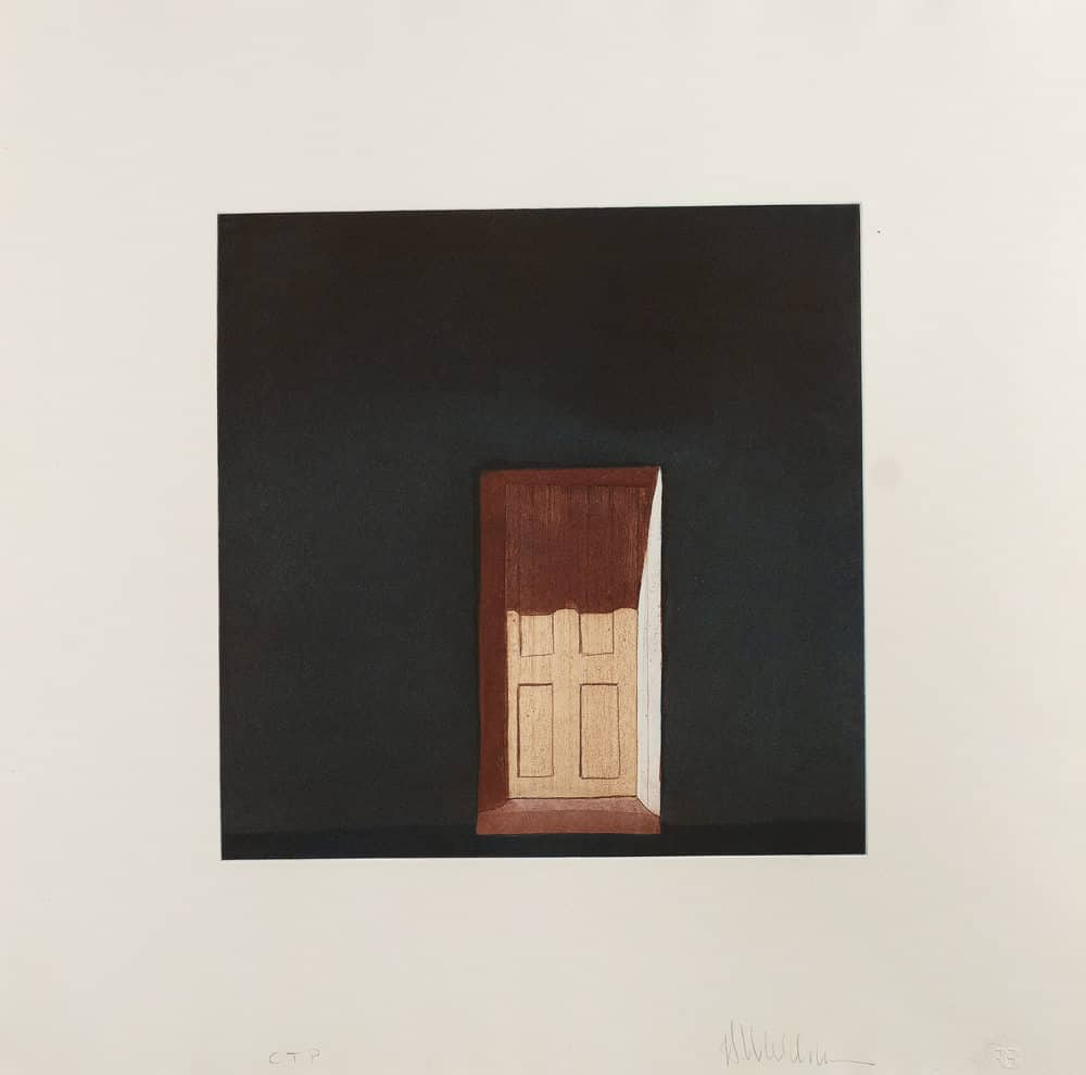 Las sombras en la puerta de la morada de Truchas