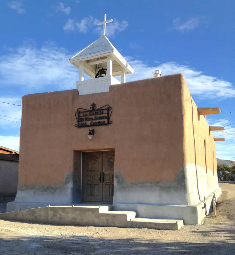 La Capilla De Nuestra Senora Del Carmen, Llano Quemado